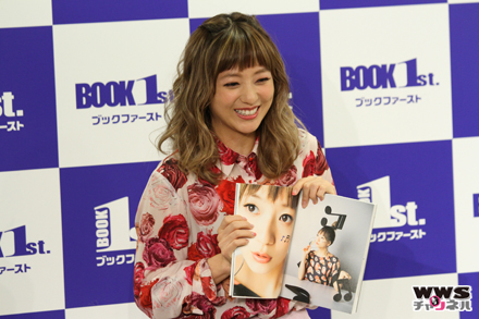 AAAの伊藤千晃がスタイルブック『made in C』発売イベントに登場!「10年経っても新しい自分を発見できた」
