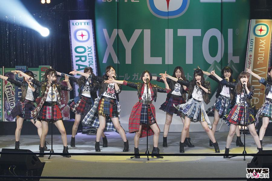 HKT48が「GUM ROCK FES.In 日本武道館」に参戦!因縁の乃木坂46と対決!!