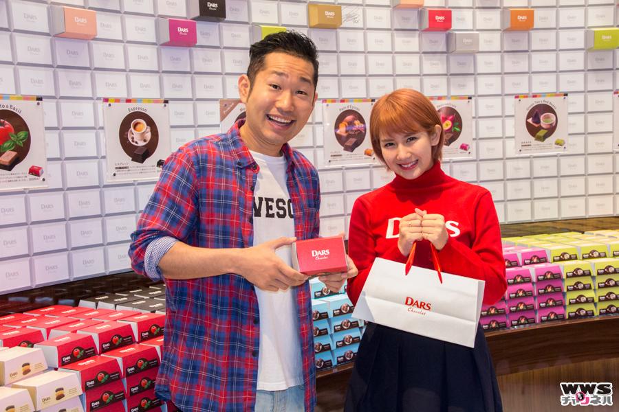 ℃-ute 岡井千聖と、さわやか五郎のユニット『おかっぴぃ』が DARS Chocolat Boutiqueの臨時店長に就任!