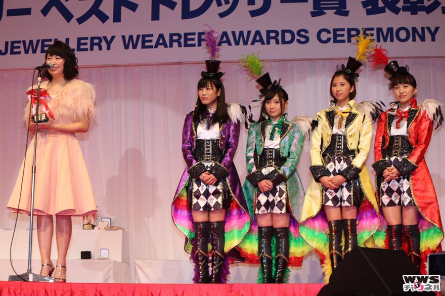 第27回 日本ジュエリーベストドレッサー賞授賞式に ももいろクローバーZ、DAIGOらが登場!
