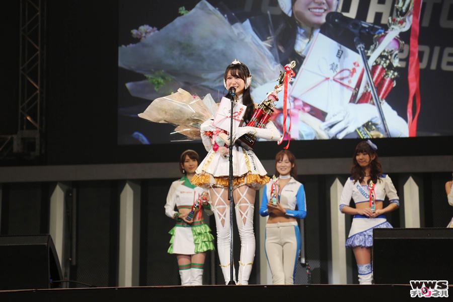 日本レースクイーン大賞2015表彰式開催!グランプリは荒井つかさ!