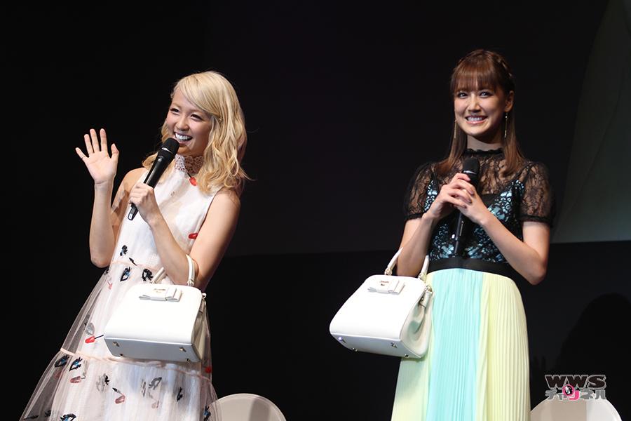 サマンサタバサのクリスマスイベントにサプライズでE-girlsのAmi 藤井夏恋が登場!Ami「今年はソロデビューも出来て充実した1年でした!」