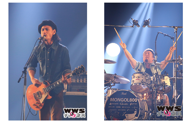 【ライブレポート】MONGOL800がEARTH STAGEで『小さな恋の歌』を披露。会場中が大合唱で盛り上がる!