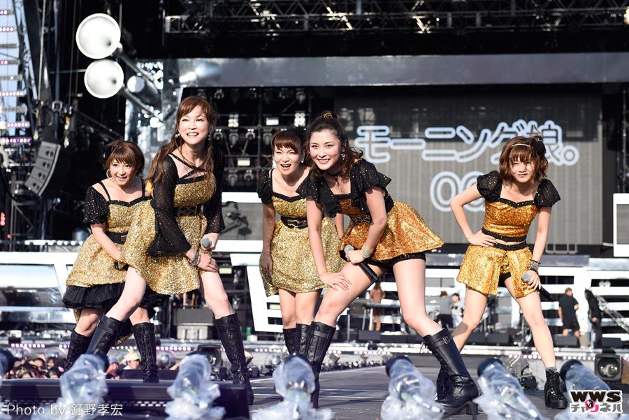 【ライブレポート】平均年齢30.4歳!モーニング娘。OGが氣志團万博2015に登場!アイドルを超えたアイドルステージ!