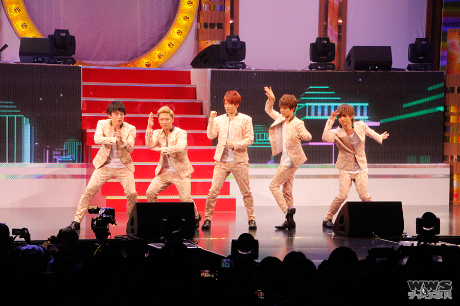 エイベックスの5人組イケメングループ・Da-iCEが新曲『BILLION DREAMS』を披露!ガールズブロガースタイル2015 S/S