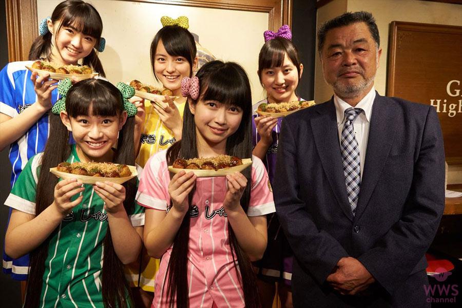 たこやきレインボー、メジャー1stシングルは『ナナイロダンス』。元阪神タイガース川藤幸三が応援!