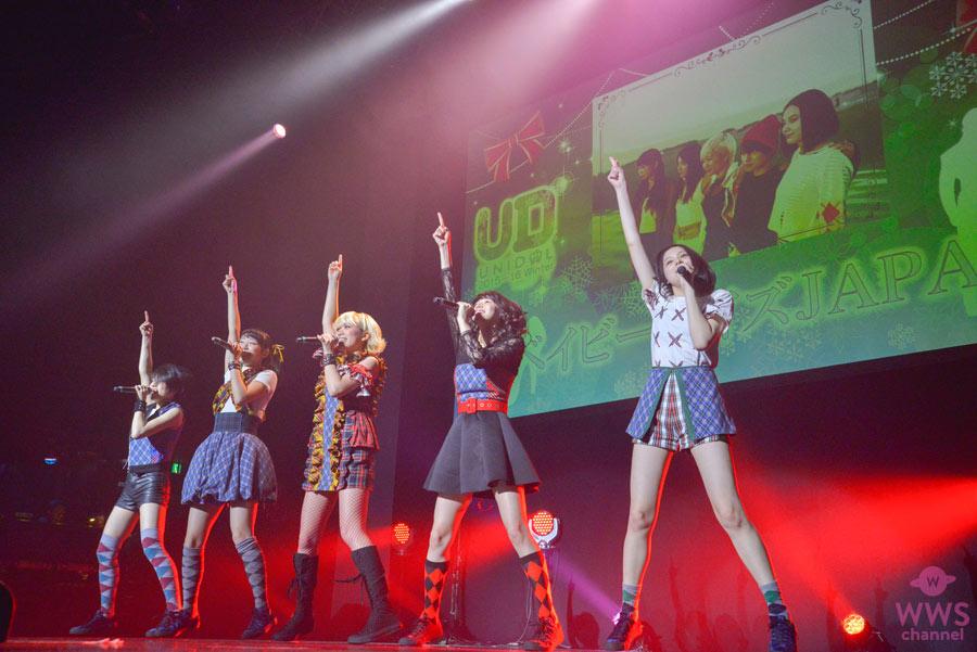 【ライブレポート】ベイビーレイズJAPANがUNIDOL Winter 2015-16にシークレットゲストで登場!