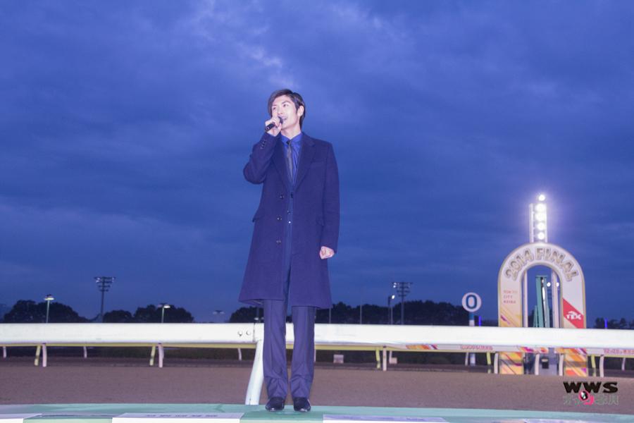三浦春馬が東京大賞典(G1)の表彰式プレゼンターとして来場!