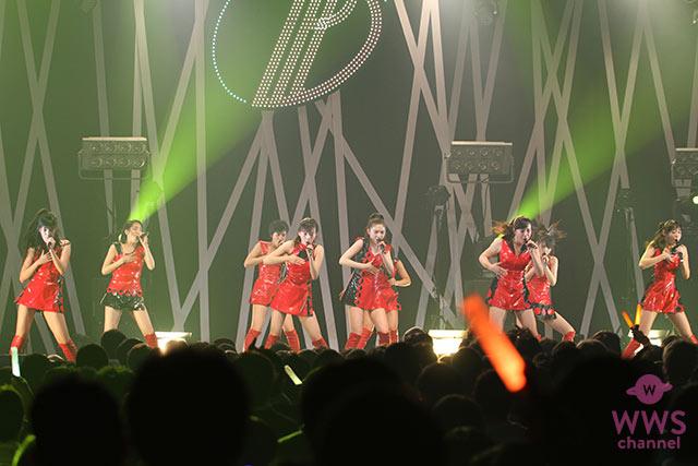 東京パフォーマンスドール が炎のように燃えるRED公演で3月23日に発売の4thシングル『逆光×礼賛』を披露!