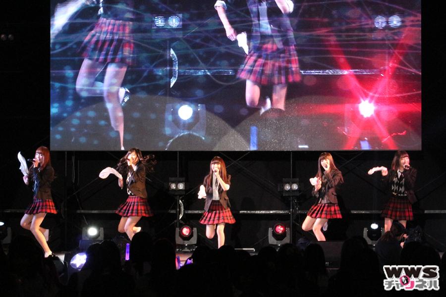 【ライブレポート】夢みるアドレセンスが『Bye Bye My Days』で女子高生と一つになる!シンデレラフェスVol.2