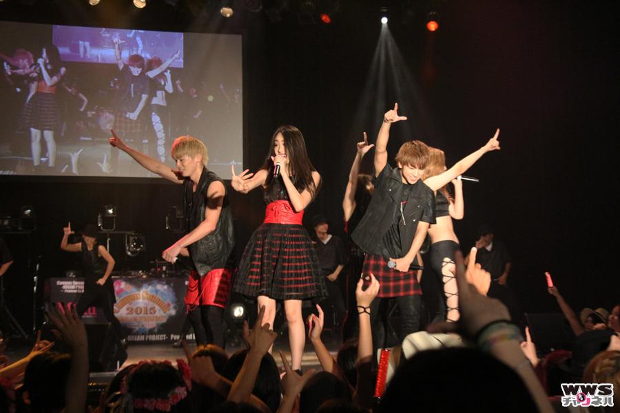 lol-エルオーエル-がデビューシングル『fire!』など披露!CAMPUS SUMMIT 2015開催!