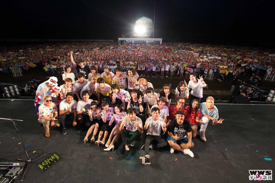 約2万人の観客を魅了!『Amuse Fes 2015 BBQ in つま恋 ~僕らのビートを喰らえコラ!~』