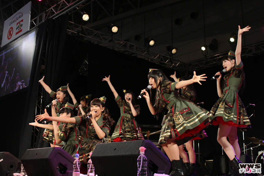 【ニコニコ超会議2015】私立恵比寿中学がサークルKサンクスイベントに登場!