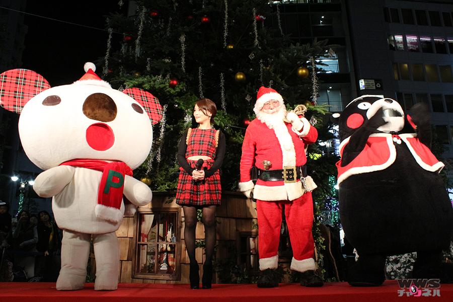 クリエイター清川あさみがくまモンと渋谷パルコに登場!