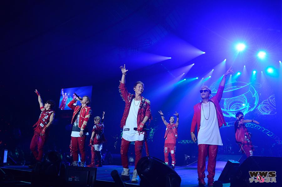 【ライブレポート】三代目 J Soul Brothersが『R.Y.U.S.E.I』でランニングマンポーズ披露!テレビ朝日ドリームフェスティバル2015 2日目トリを飾る!