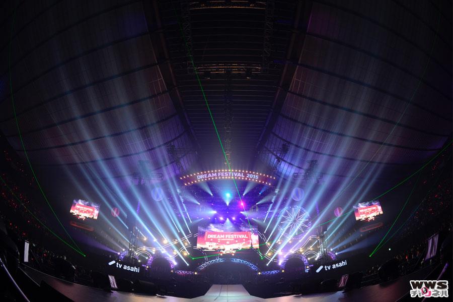 【33,000人動員 】B'z、三代目 J Soul Brothers、X JAPANらが夢の共演!テレビ朝日ドリームフェスティバル 2015