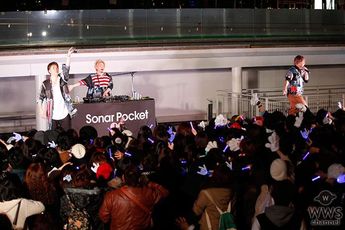 ソナーポケット 6th ALBUMリリース記念インストアイベントをららぽーと豊洲で開催!