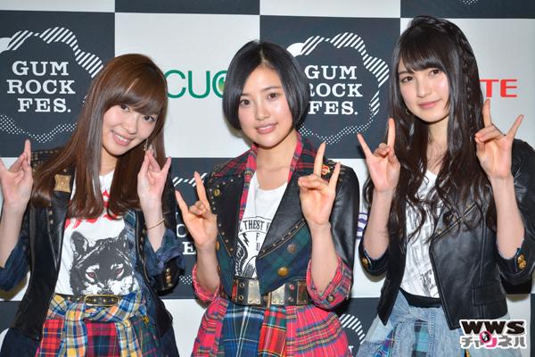 【動画公開】HKT48にインタビュー!GUM ROCK FES.In 日本武道館