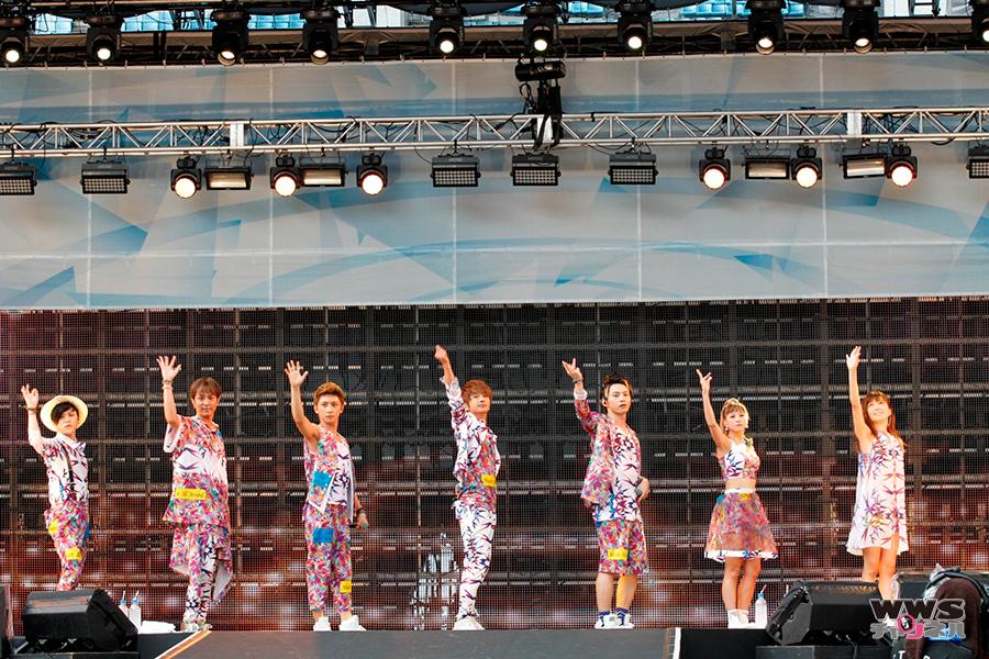 a-nation stadium fes.大阪公演初日 AAAが花柄をちりばめたキュートな衣装で第7弾シングル「LOVER」からスタート!!