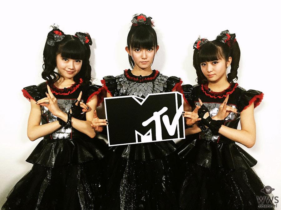BABYMETALの最新インタビュー&厳選ライブ映像などをMTVで放送決定!