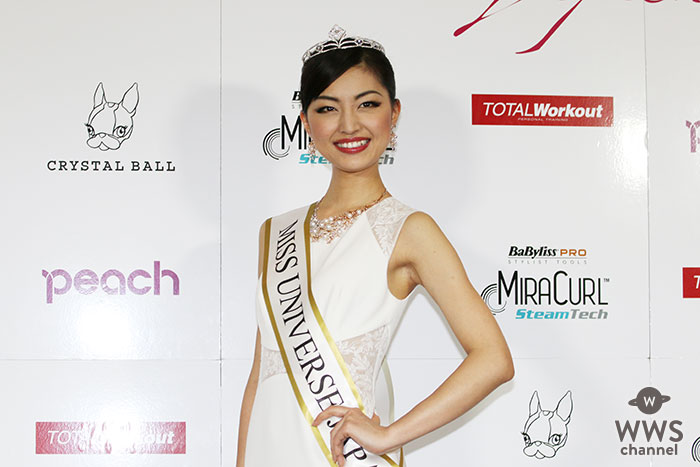 美の祭典「2016ミス・ユニバース日本大会」オードリー・ヘップバーンに憧れる女子大生、中沢沙理(22)さんが日本代表!