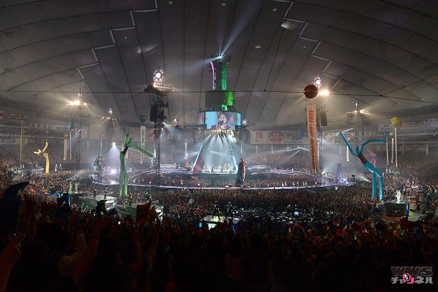 EXILEからTAKAHIRO、三代目 J Soul Brothersからは今市隆二らが登場! 東京ドームで50,000人のファンが絶叫