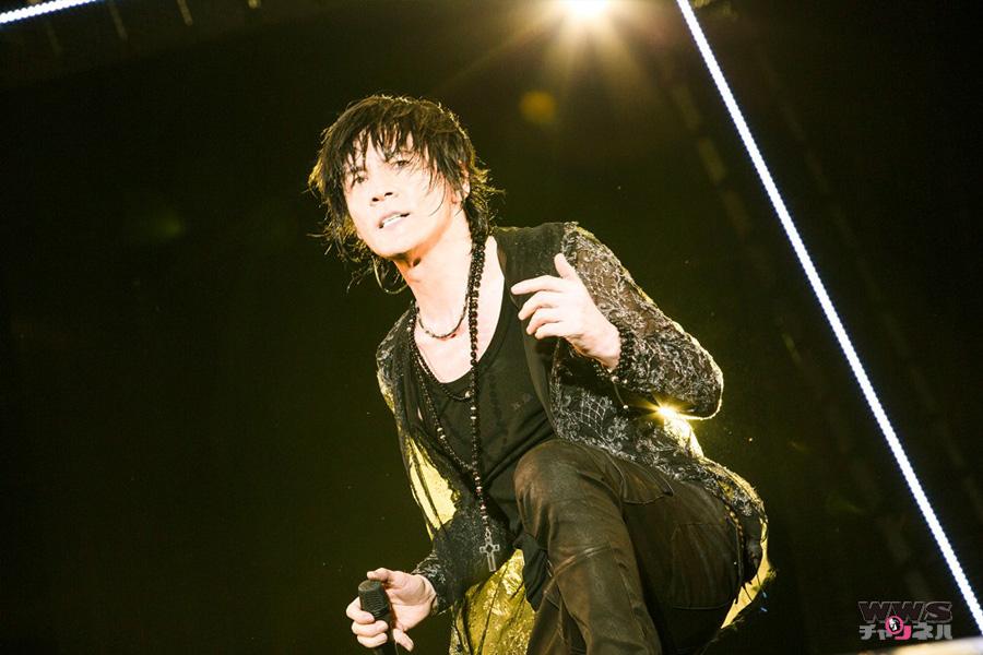 氷室京介ソロ・デビュー25周年ツアーでデビュー曲「ANGEL」を熱唱するフィナーレ