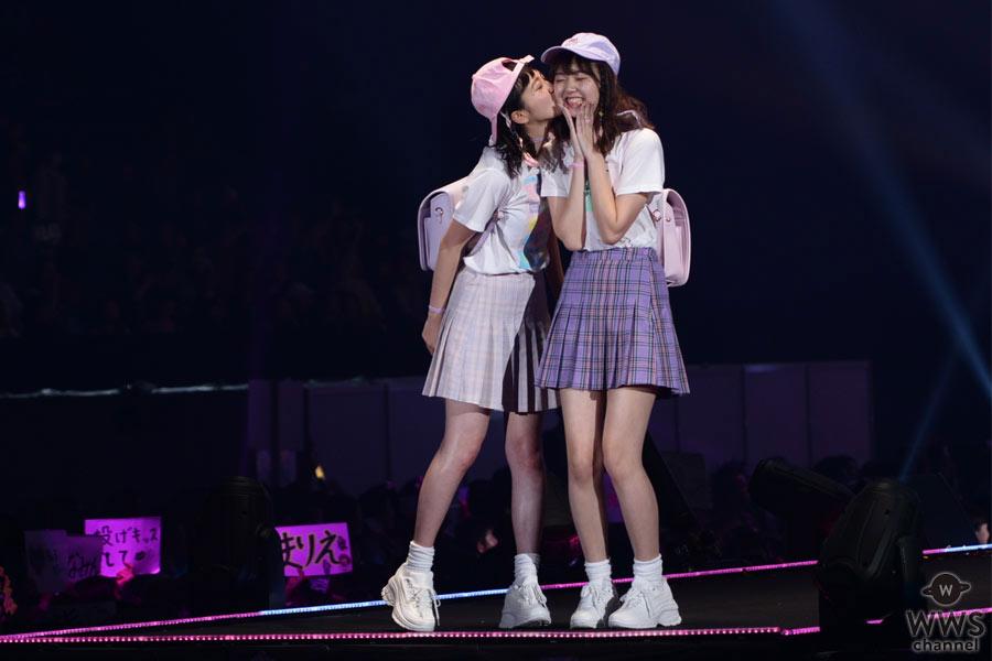 江野沢愛美と飯豊まりえがTGC 2016 S/S WEGOステージに揃って登場!