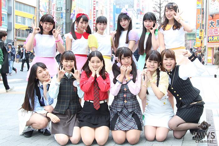 ライブアイドルPLCとオフィス系アイドル・ ハイパーモチベーションが秋葉原を街にコラボ!