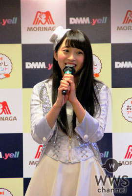 SUPER☆GiRLSの渡邉幸愛が『おかしプリント』公式PRアイドルに任命!「理想の告白は、夜の海で!」
