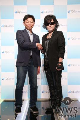 X JAPAN Toshlが新ゲーム事業会社『フジゲームス』サウンドプロデューサーに就任!