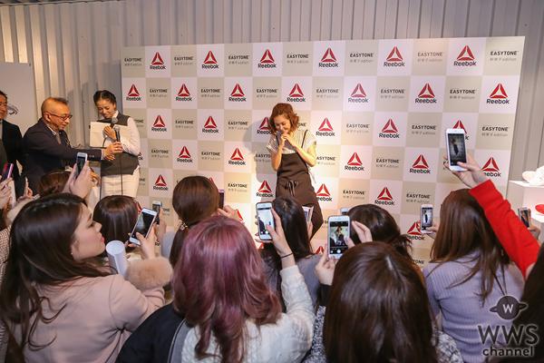 紗栄子とリーボックの夢のコラボレーションが実現!『イージートーン紗栄子エディション』が発売開始!