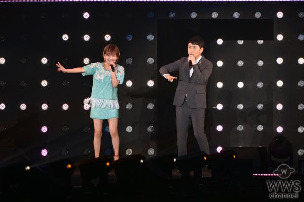 宇野実彩子(AAA)&児嶋一哉(アンジャッシュ)がデュエット曲『なろうよ』をTGC 2016 S/Sで初披露!