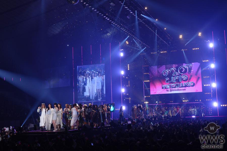 【31,200人来場】AAA、三代目JSB 登坂広臣、江野沢愛美ら豪華出演者達の共演!TGC 2016 S/S終演!