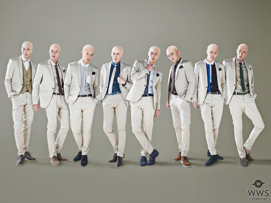 SOLIDEMOが美坊主に!8人組美坊主ユニット『剃りDEMO』の衝撃的なビジュアルを公開!