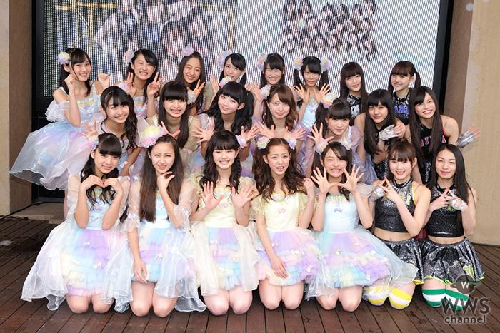 原駅ステージA&ふわふわラクーアで大荒れの天候の中、合同ライブ開催!夢は武道館単独ライブ!