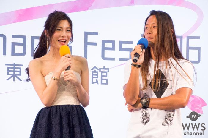 島袋聖南と伊藤大輝がFreshman's Fes 2016トークショーに登場!仲良しの秘訣はお互い謝る事