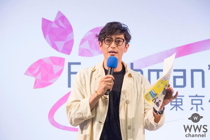 伊勢谷友介がFreshman's Fes 2016トークショーに登場!大学時代を振り返り熱い想いを語る!