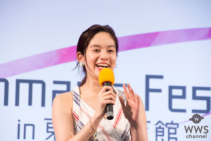 筧美和子がFreshman's Fes 2016トークショーに登場!新生活を迎える学生達へアドバイス!
