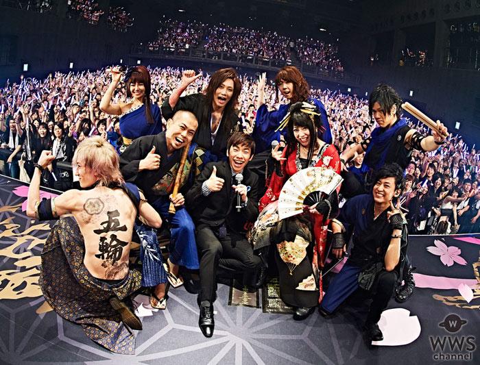 和楽器バンドの全国ツアー初日に織田信成がサプライズ出演!リオ五輪での共演を前に意気込みを語る!
