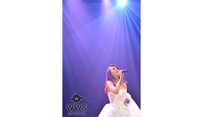 May J.が10周年記念ツアーをスタート!話題の小室哲哉、つんく♂との豪華コラボ曲を初披露!
