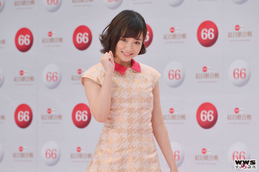 第66回NHK紅白歌合戦に大原櫻子が初出場!「緊張すると思いますが、一生懸命楽しく歌えればいいなと思います」