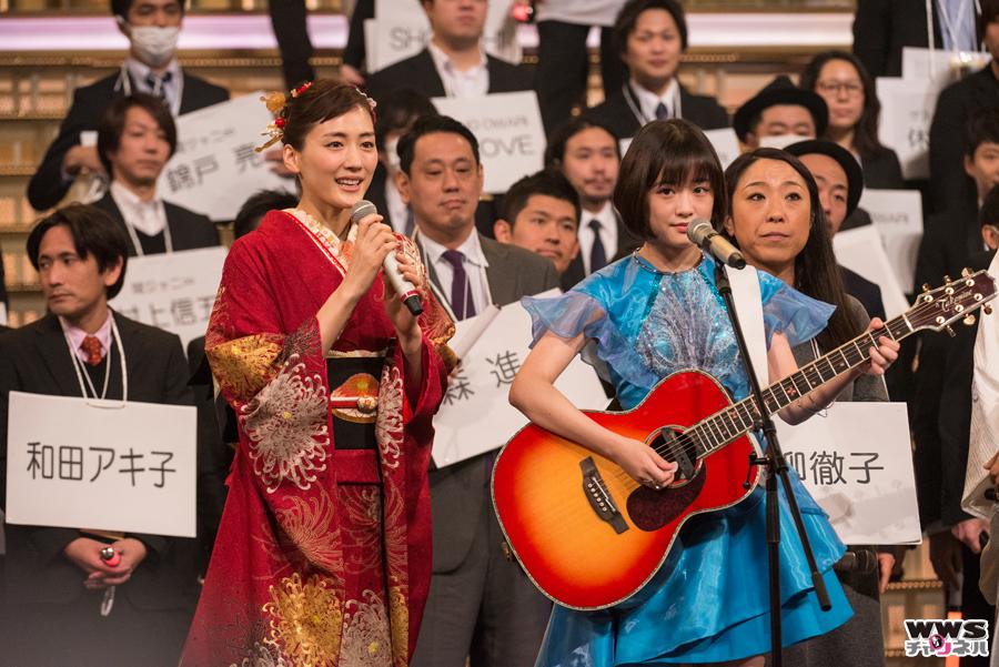 大原櫻子が第66回NHK紅白歌合戦 最終リハーサルステージに登場!