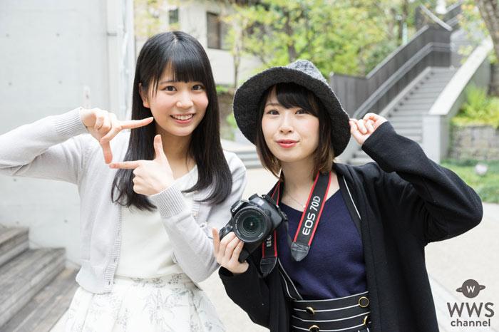 SKE48の高柳明音(ちゅり)がカメラマンデビュー!最初のポートレートモデルは、FES☆TIVEの横井ほなみ!