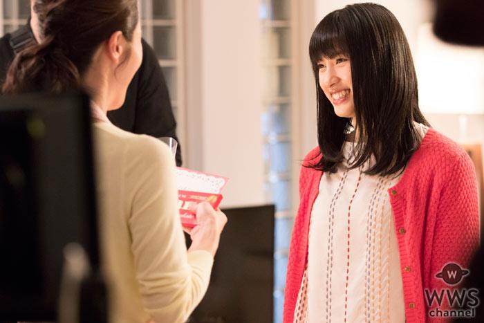 土屋太鳳 出演のガーナミルクチョコレート新CM『母の日2016』篇が期間限定放送!