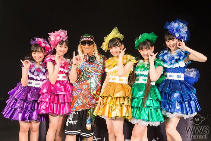 たこやきレインボーの『ナナイロダンス』リリースイベントにDJ KOOがサプライズ出演、KOO輩に認定!