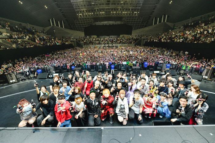 【ライブレポート】RIP SLYME、きゃりーぱみゅぱみゅ、CAPSULEらが登場!『unBORDE』創立5周年記念イベント開催!