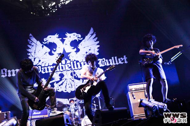【速報ライブレポート】J-ROCK最大級の演歌ロックが弾ける!9mm Parabellum Bulletがルナフェスに登場!