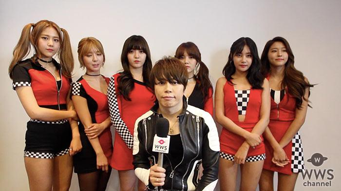 【動画】AOAが西川貴教(T.M.Revolution)とコラボでインタビュー!
