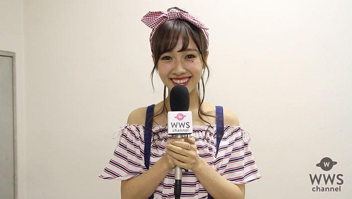 【動画】モデル・前田希美にシンデレラフェス舞台裏でインタビュー!